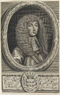 Roger Palmer, Earl of Castlemaine, by William Faithorne - NPG D22668