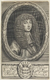 Roger Palmer, Earl of Castlemaine, by William Faithorne - NPG D22669