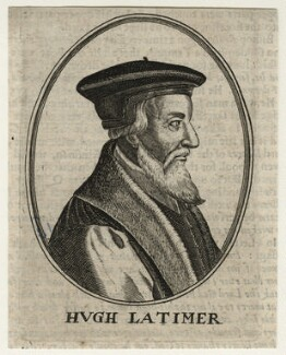 Hugh Latimer, after Magdalena de Passe, after  Willem de Passe - NPG D23047