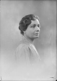 Hyacinthe Mary Boyle (née Bell), Countess of Glasgow, by Bassano Ltd - NPG x150486