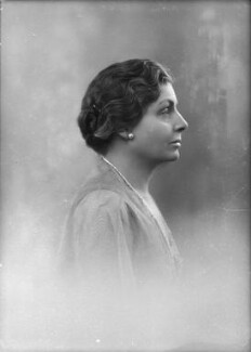 Hyacinthe Mary Boyle (née Bell), Countess of Glasgow, by Bassano Ltd - NPG x150488