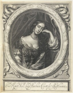 Barbara Palmer (née Villiers), Duchess of Cleveland, by William Faithorne, after  Sir Peter Lely - NPG D22670
