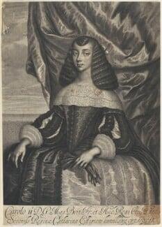 Catherine of Braganza, by William Faithorne, after  Dirk Stoop, 1662 - NPG D22671 - © National Portrait Gallery, London