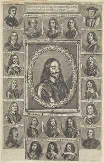 King Charles I and his adherents, after Sir Anthony van Dyck, and after  Unknown artists - NPG D22672