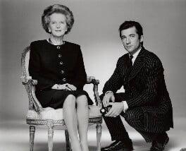 Margaret Thatcher; Fergus Greer, by Fergus Greer - NPG x128527