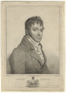 Alexander Beugo, by James Mitan, after  J. Flight - NPG D23060