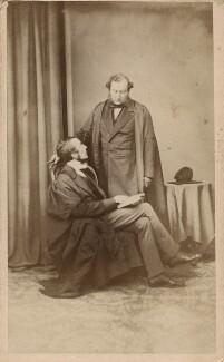 William Selwyn; Sir Charles Jasper Selwyn, by William Mayland - NPG Ax39725