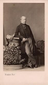 Sir George Markham Giffard, by Disdéri - NPG Ax39726
