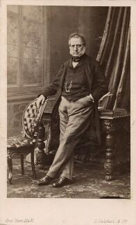 Sir Richard Malins, by Leonida Caldesi, 1860s - NPG Ax39729 - © National Portrait Gallery, London
