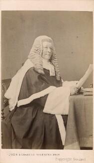 Sir Robert Lush, by John & Charles Watkins - NPG Ax39731