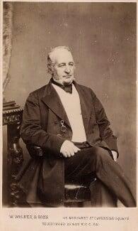 Spencer Horatio Walpole, by William Walker & Sons, 1862-1866 - NPG Ax39732 - © National Portrait Gallery, London