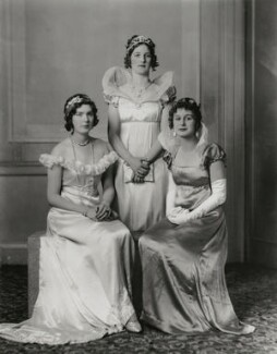 Diana Mary (née Wellesley), Lady Glentoran; Hon. Bronwen Mary Lindsay (née Scott-Ellis); Pamela Berry (née Wellesley), by Bassano Ltd - NPG x150522