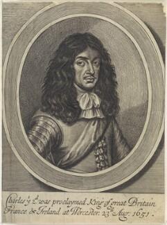 King Charles II, by William Faithorne - NPG D22685