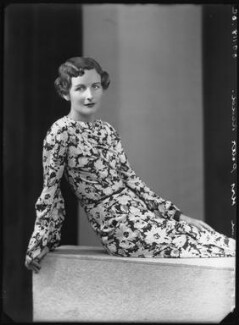 Nancy Mitford, by Bassano Ltd - NPG x26634