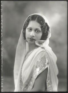 Maharaj Kumari Lalitarni Devi of Burdwan, by Bassano Ltd - NPG x150512