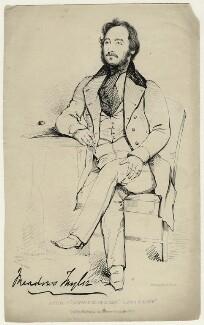 Philip Meadows Taylor, by John Kirkwood, after  Charles Grey - NPG D23133