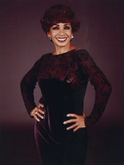 Shirley Bassey, by Mike Owen, 1997 - NPG  - © Mike Owen / National Portrait Gallery, London