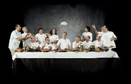 Chefs' Last Supper, by John Reardon - NPG P1121
