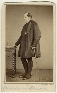George Anthony Denison, by Henry Hering - NPG x13382