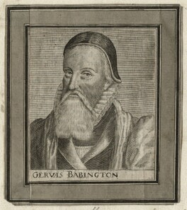 Gervase Babington, after Simon de Passe - NPG D23144