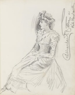 Cora Urquhart Brown Potter, by Percy Frederick Seaton Spence - NPG D23134(3)