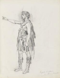 Harold Kyrle Bellew, by Percy Frederick Seaton Spence - NPG D23134(5)