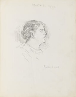George Richard Rignold, by Percy Frederick Seaton Spence - NPG D23134(8)