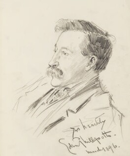 Eden Phillpotts, by Percy Frederick Seaton Spence - NPG D23134(9)