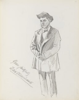 Darley George Boucicault (Dion Boucicault Jr), by Percy Frederick Seaton Spence - NPG D23134(21)