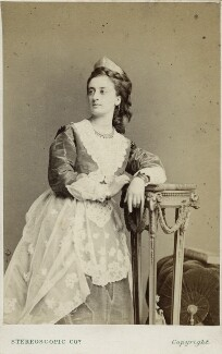 Mary Frances Scott-Siddons, by London Stereoscopic & Photographic Company - NPG Ax17872
