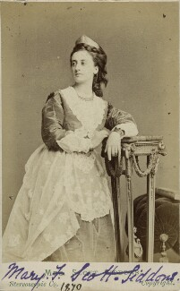 Mary Frances Scott-Siddons, by London Stereoscopic & Photographic Company - NPG Ax18191