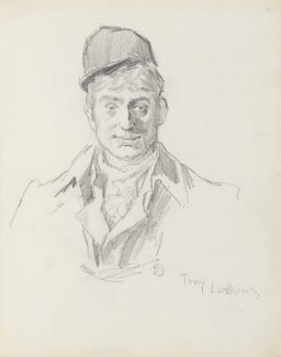 Tony Lumpkins, by Percy Frederick Seaton Spence, early 1890s - NPG D23134(4) - © National Portrait Gallery, London