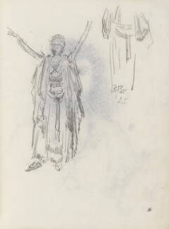Figure study, by Percy Frederick Seaton Spence - NPG D23134(5a)