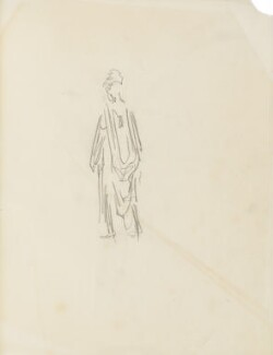 Figure study, by Percy Frederick Seaton Spence - NPG D23134(7a)