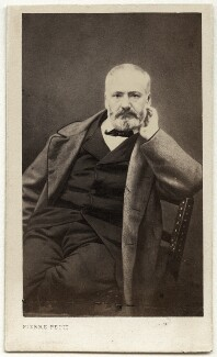Victor Hugo, by Pierre Petit, after  Unknown artist - NPG Ax17894