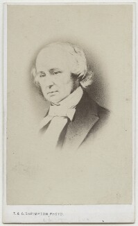 Benjamin Jowett, by Thomas & George Shrimpton, after  Unknown artist, 1860s - NPG Ax17839 - © National Portrait Gallery, London