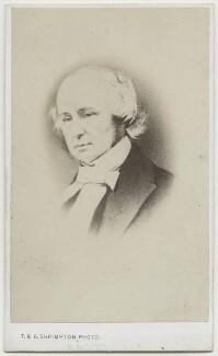Benjamin Jowett, by Thomas & George Shrimpton, after  Unknown artist - NPG Ax17839