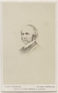 Benjamin Jowett, by Hills & Saunders, after  Unknown artist - NPG Ax18293