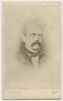 Prince Otto Edward Leopold von Bismarck-Schonhausen, by Gustave Keulmorghun - NPG Ax17921