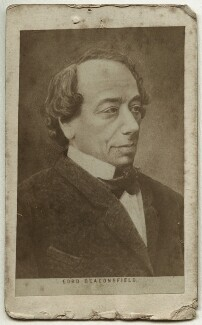Benjamin Disraeli, Earl of Beaconsfield, after Unknown artist, 1860s - NPG Ax18295 - © National Portrait Gallery, London