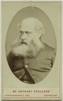 Anthony Trollope, by London Stereoscopic & Photographic Company - NPG x12820