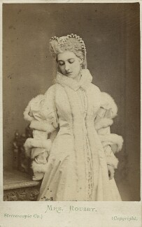 Clara Marion Jessie Rousby (née Dowse) as Princess Elizabeth in ''Twixt Axe and Crown', by London Stereoscopic & Photographic Company - NPG x22106