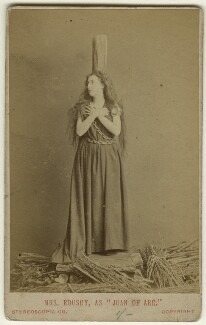 Clara Marion Jessie Rousby (née Dowse) as Joan in 'Joan of Arc', by London Stereoscopic & Photographic Company - NPG x22107