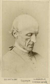 Henry Edward Manning, by Elliott & Fry, 1870 - NPG x12583 - © National Portrait Gallery, London