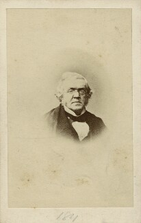William Makepeace Thackeray, by Unknown photographer, early 1860s - NPG x12965 - © National Portrait Gallery, London