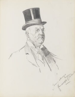 Randolph T. Ward, by Percy Frederick Seaton Spence - NPG D23134(15)