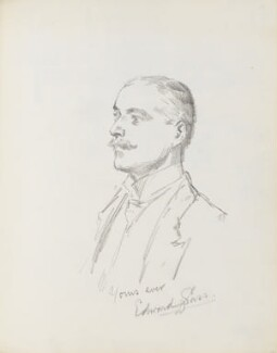 Edward Sass, by Percy Frederick Seaton Spence - NPG D23134(19)