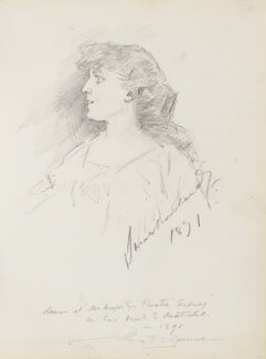 Sarah Bernhardt, by Percy Frederick Seaton Spence - NPG D23134(31)