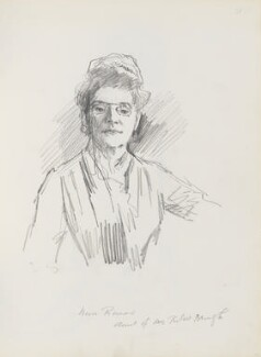 Miss Romer, by Percy Frederick Seaton Spence - NPG D23134(26)