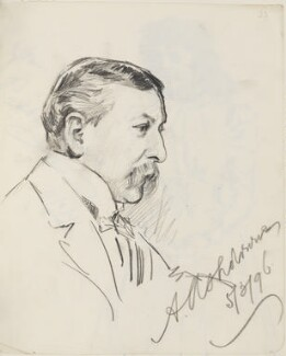 A. Ashdowne, by Percy Frederick Seaton Spence - NPG D23134(23)